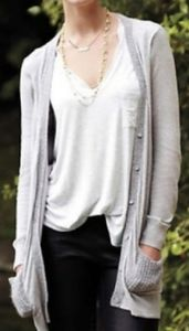 Anthropologie Knitted & Knotted Ravenna Cardigan L